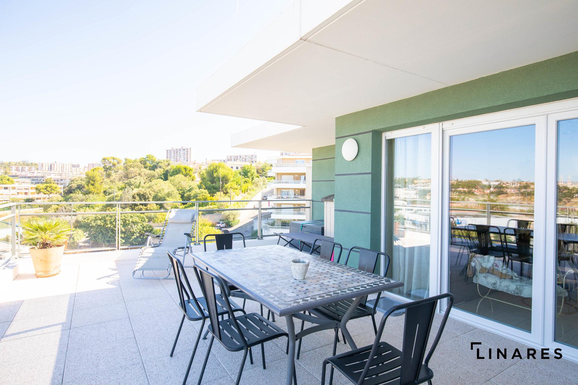LE PLEIN CIEL Appartement de type 3 de 65m2+ terrasse de 65m2 13012