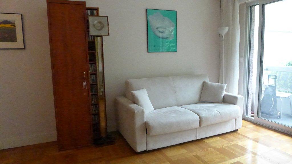 Studio meublé rue de Vouillé 34.03 m2