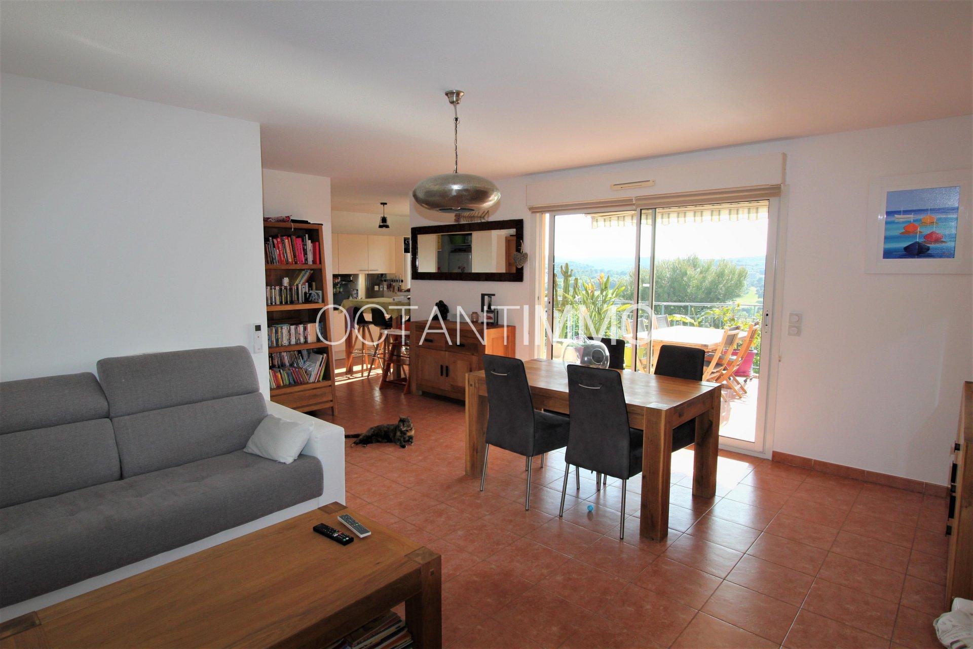 For sale:  apartment 3p Top Floor Biot St Philippe (06410)