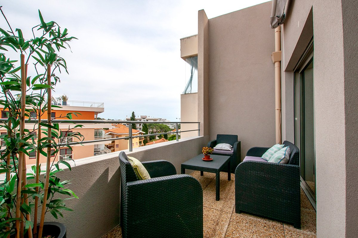 Luxury 3 Bedroomed Duplex Apartment in Juan les Pins