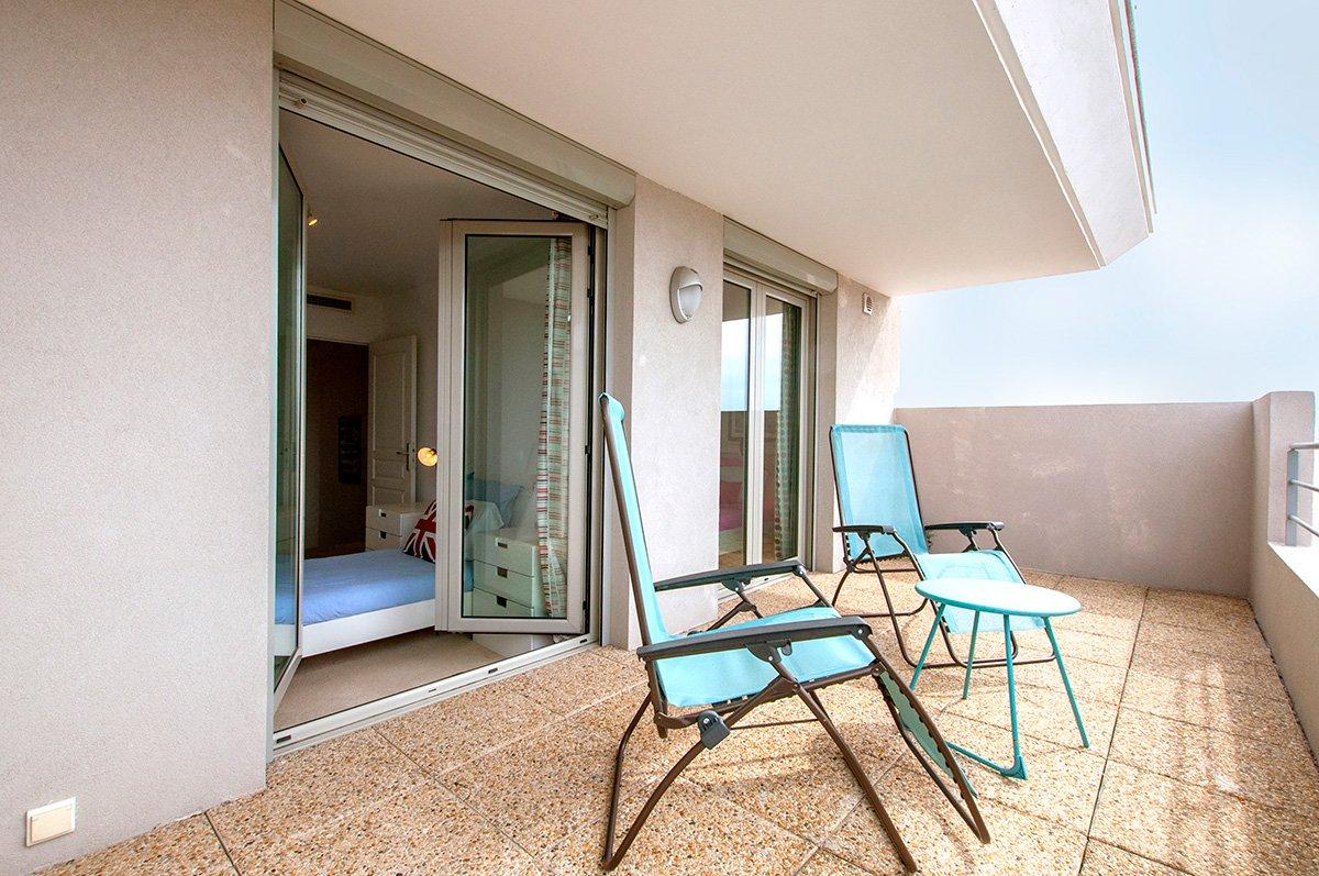 Duplex de luxe avec 3 chambres à Juan les Pins