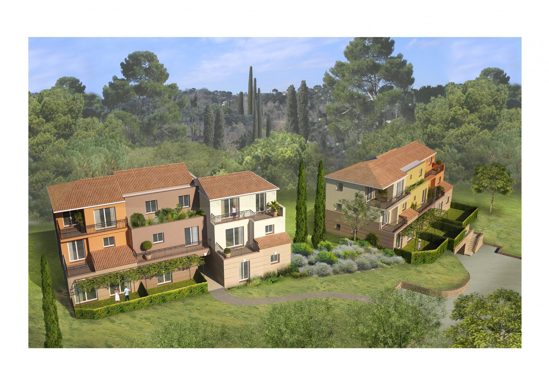 Sale Apartment - Saint-Laurent-du-Var Moyenne Corniche