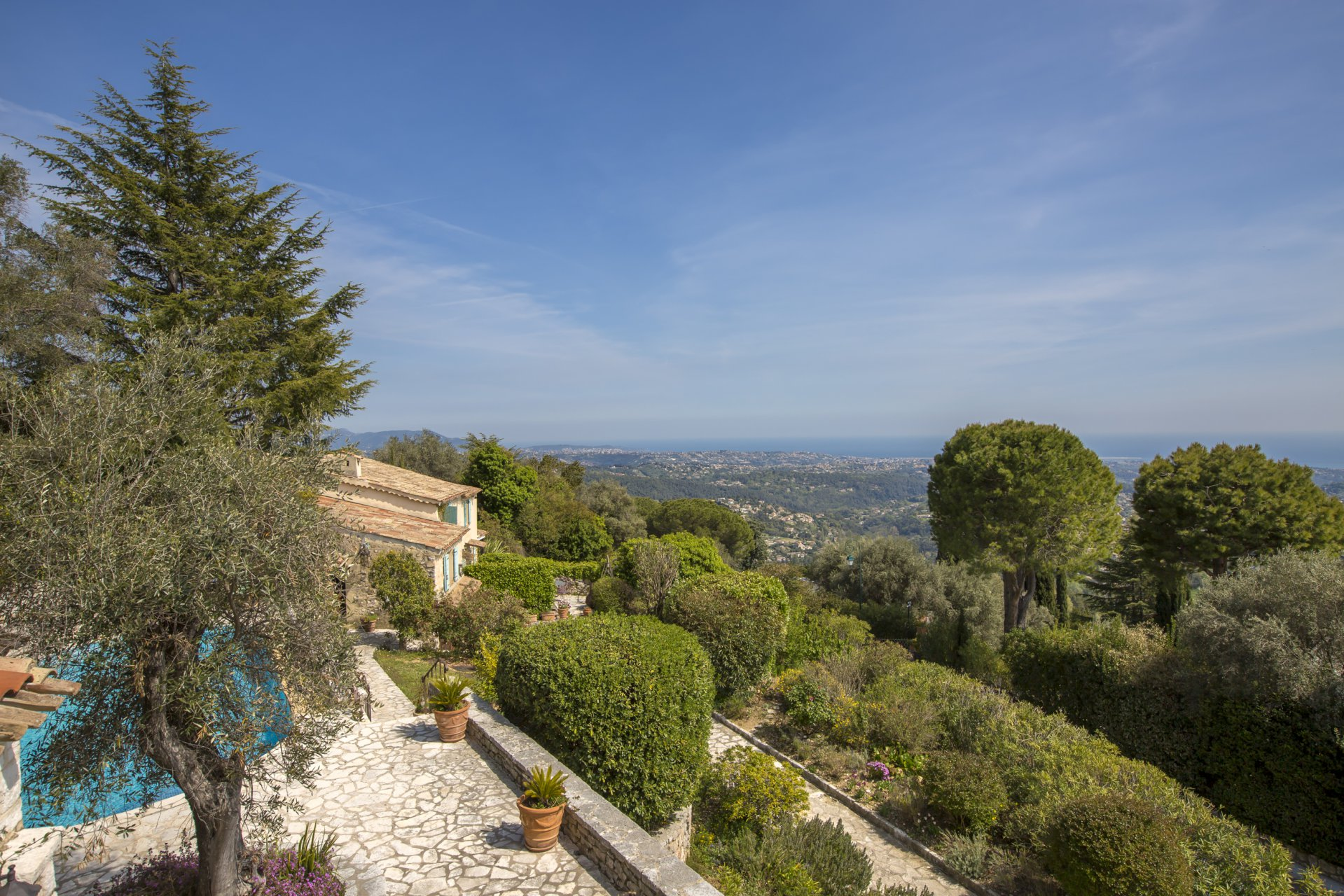 "Vence: Stone bastide ""on the top of the World"""