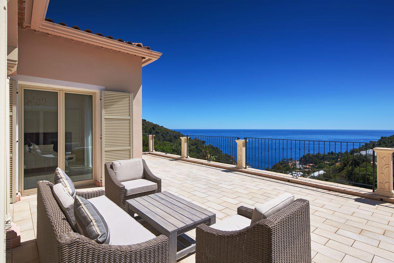 Eze - Cosy villa with sea view