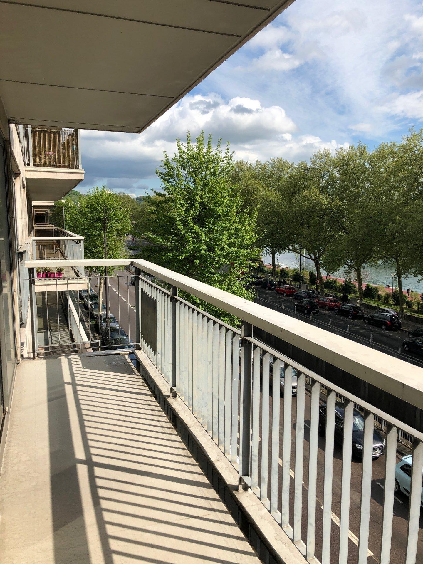 Appartement T4 Rouen droite vue Seine