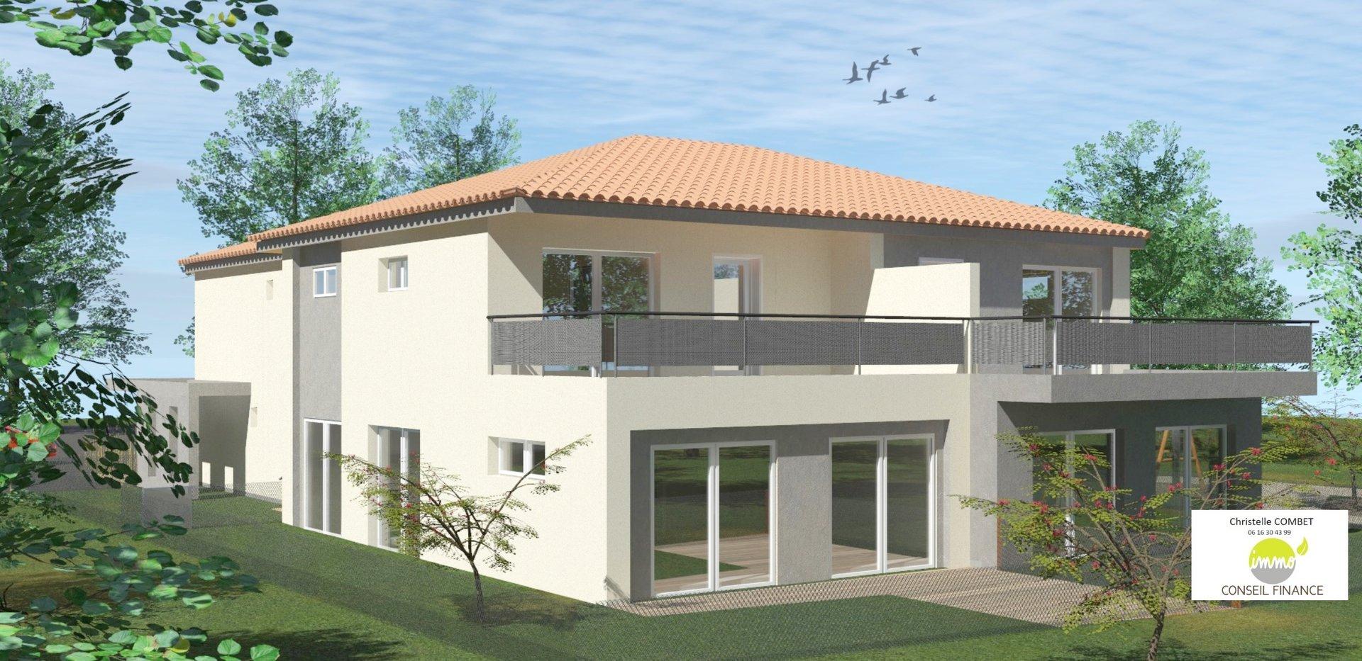 Appartement Villa T4 avec terrasse à Saint GELY DU FESC