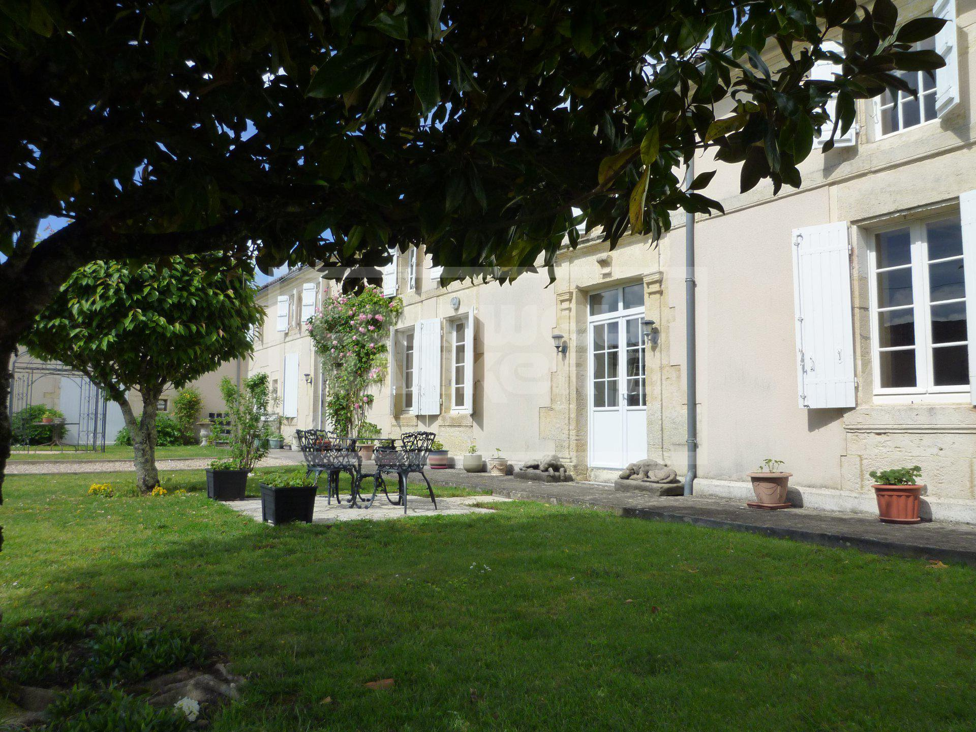 Renvoated Stone House for Sale - Between Cognac and Saintes