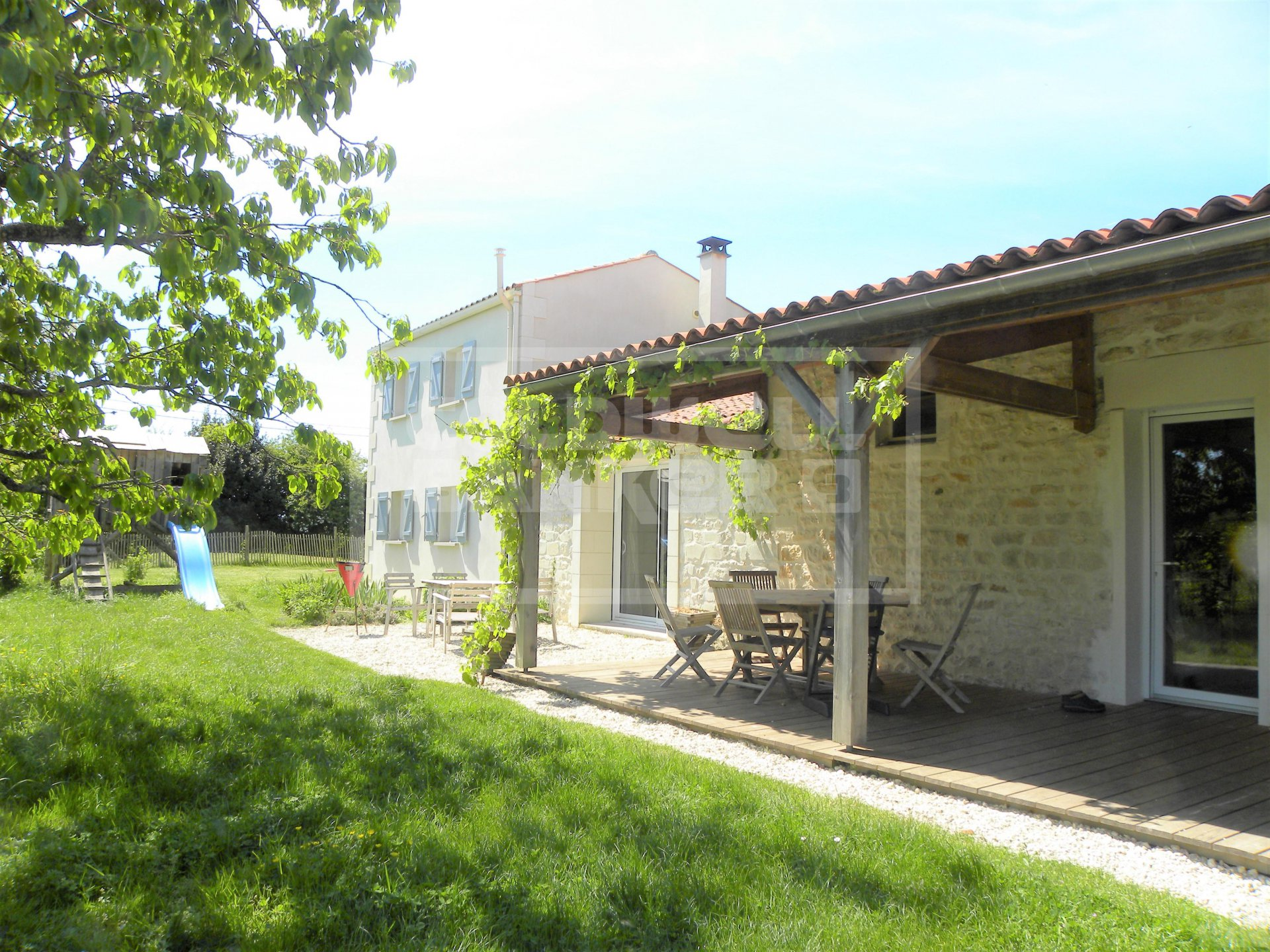 Renovated Stone House for Sale - Near Rochefort