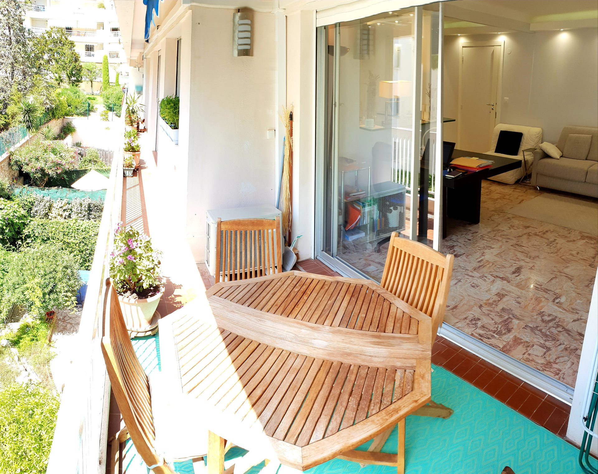 Cannes Basse Californie 3P de 56m2 avec terrasse