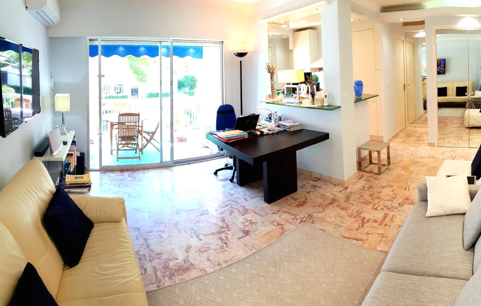 Cannes Basse Californie 2 bedrooms 56 Sqm with terrace
