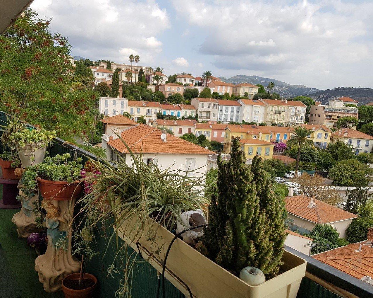 NICE BAS CIMIEZ Vente appartement 4 Pièces avec balcon