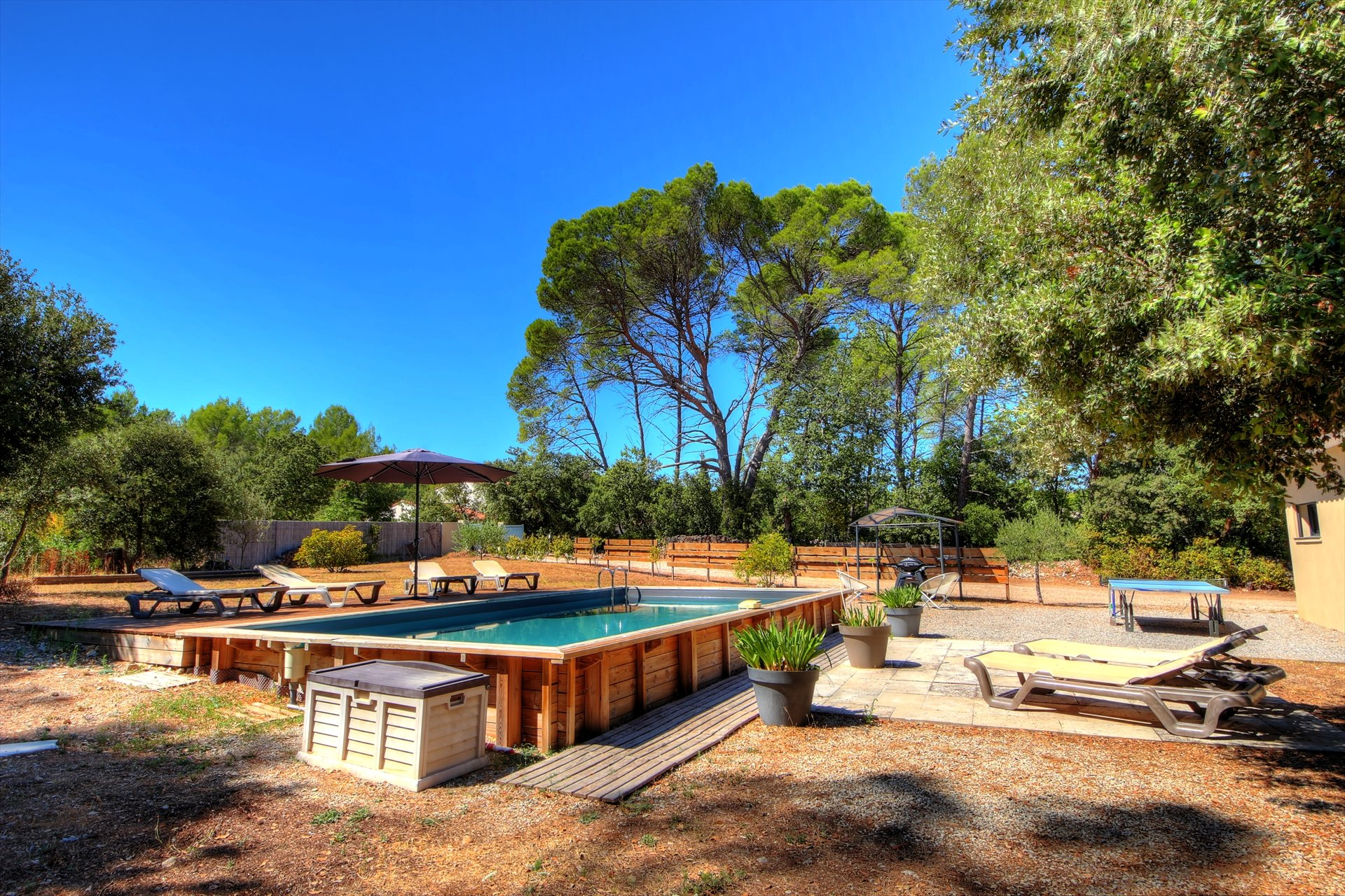 Superbe maison contemporaine avec piscine - Lorgues Var Provence