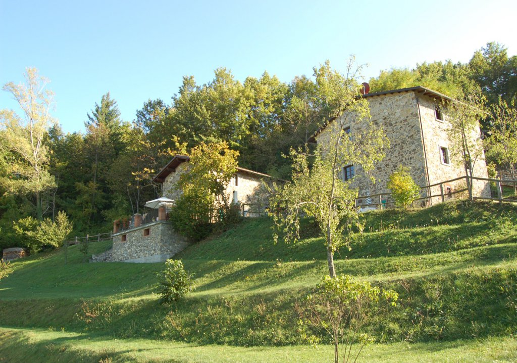 ITALY, TUSCANY, NORTH OF LUCCA, APARTMENT IN VILLA WITH POOL, 6 PERSONS