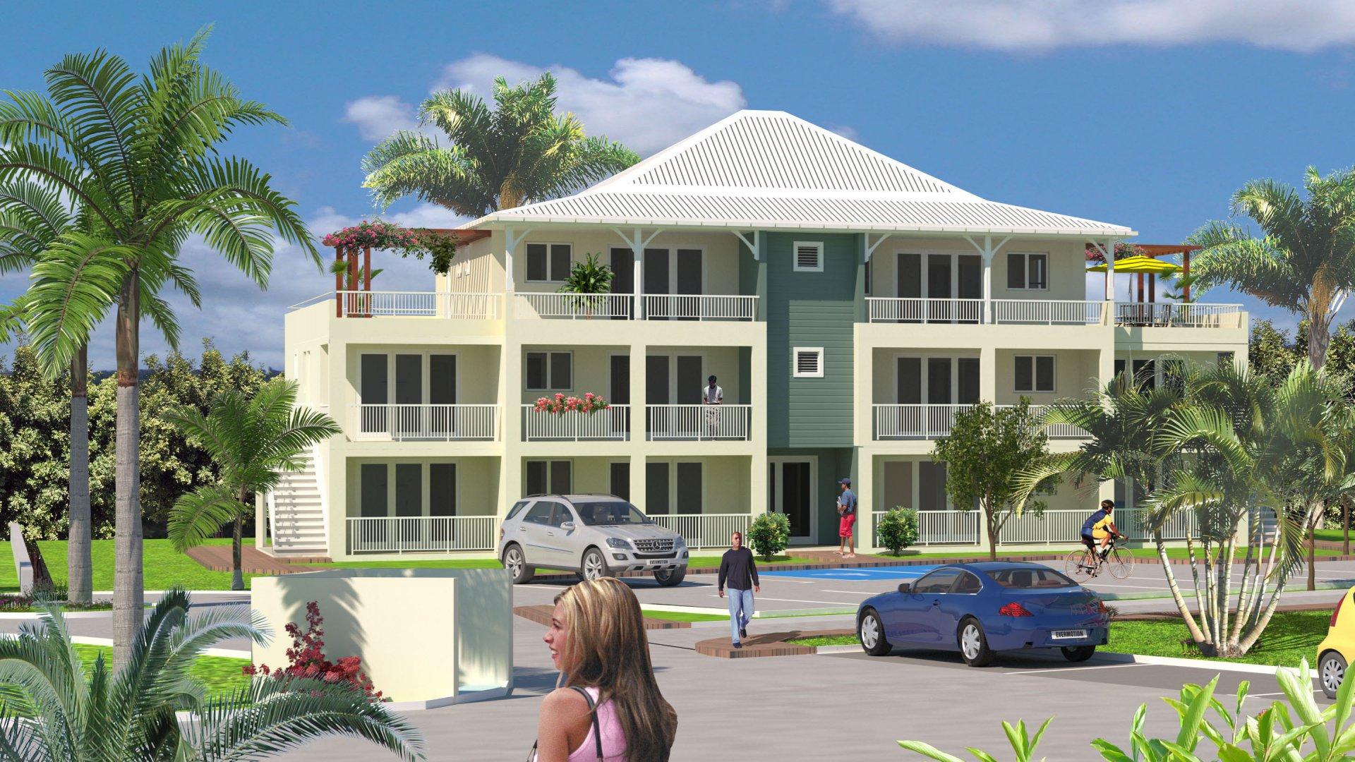 Development Apartment - Le Lamentin - Martinique
