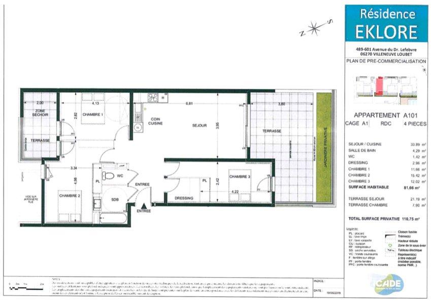 Verkoop Appartement - Villeneuve-Loubet