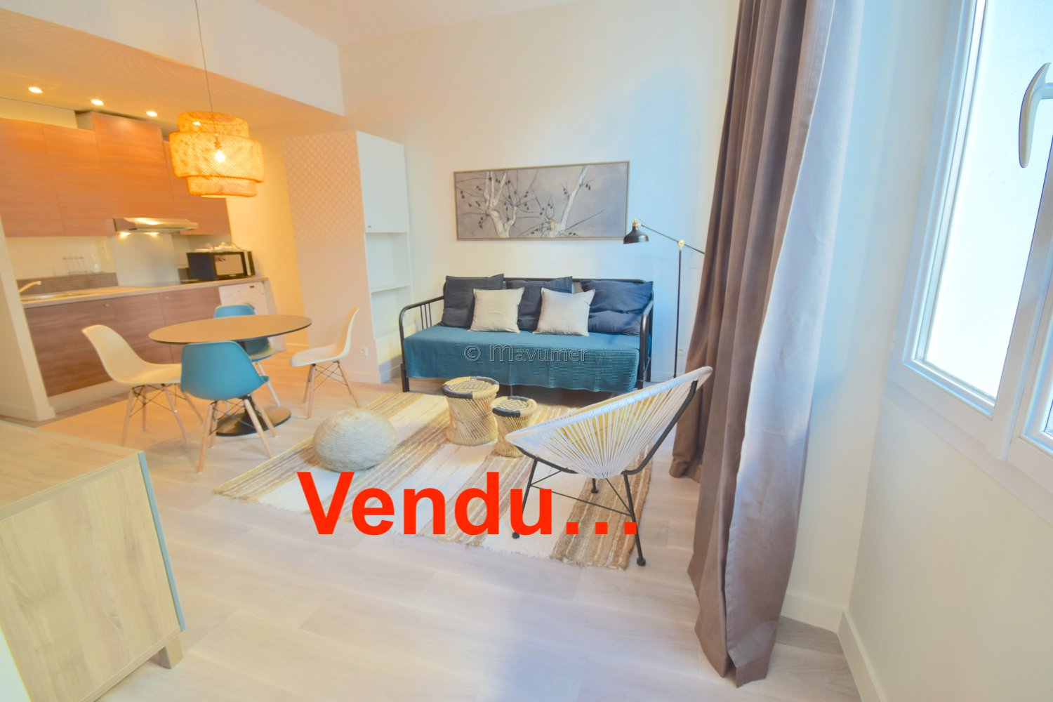 APPARTEMENT T2 PARADIS 13006 MARSEILLE