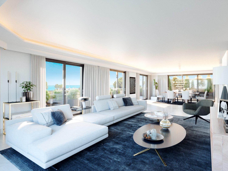 Saint Laurent du Var (06700) - Appartement - Villa sur le toit - vue mer