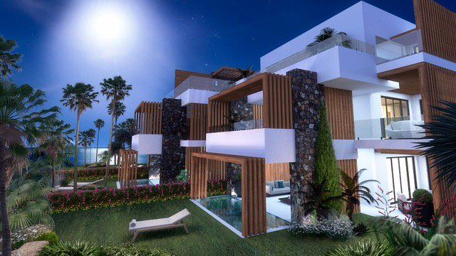 Prestigious apartments in Tamarin