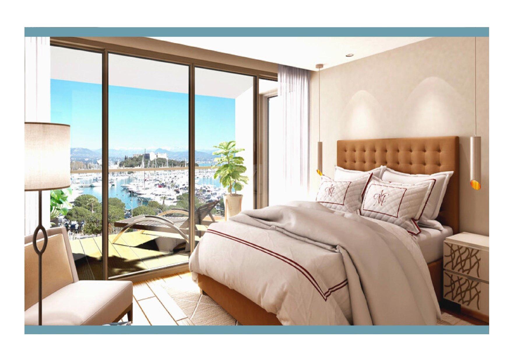 PORT VAUBAN - PENTHOUSE 3 BEDROOMS 150 M2
