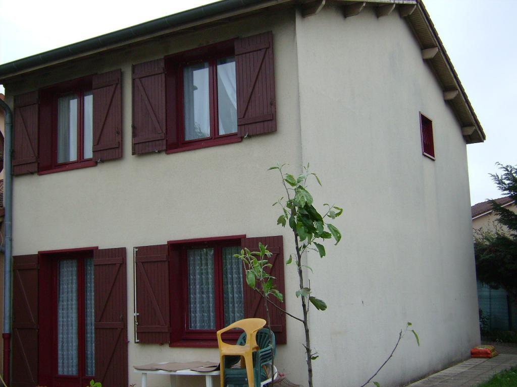 Maison mitoyenne de 90m², 3ch, bureau, terrain 450m².