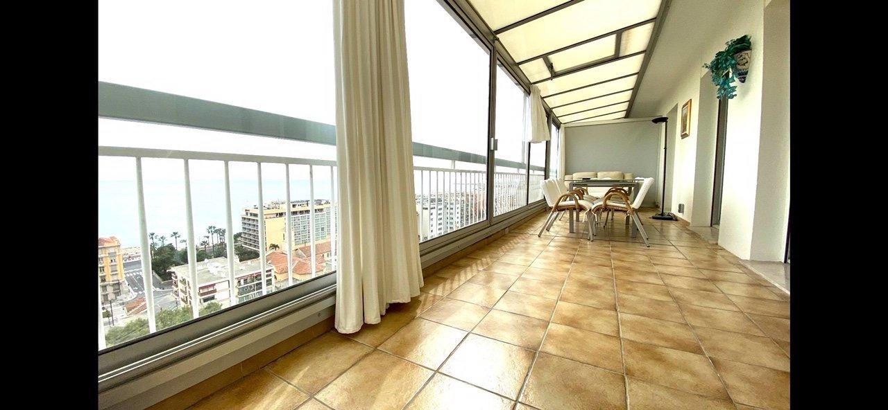 Fabron Toit terrasse vue Panoramique MER