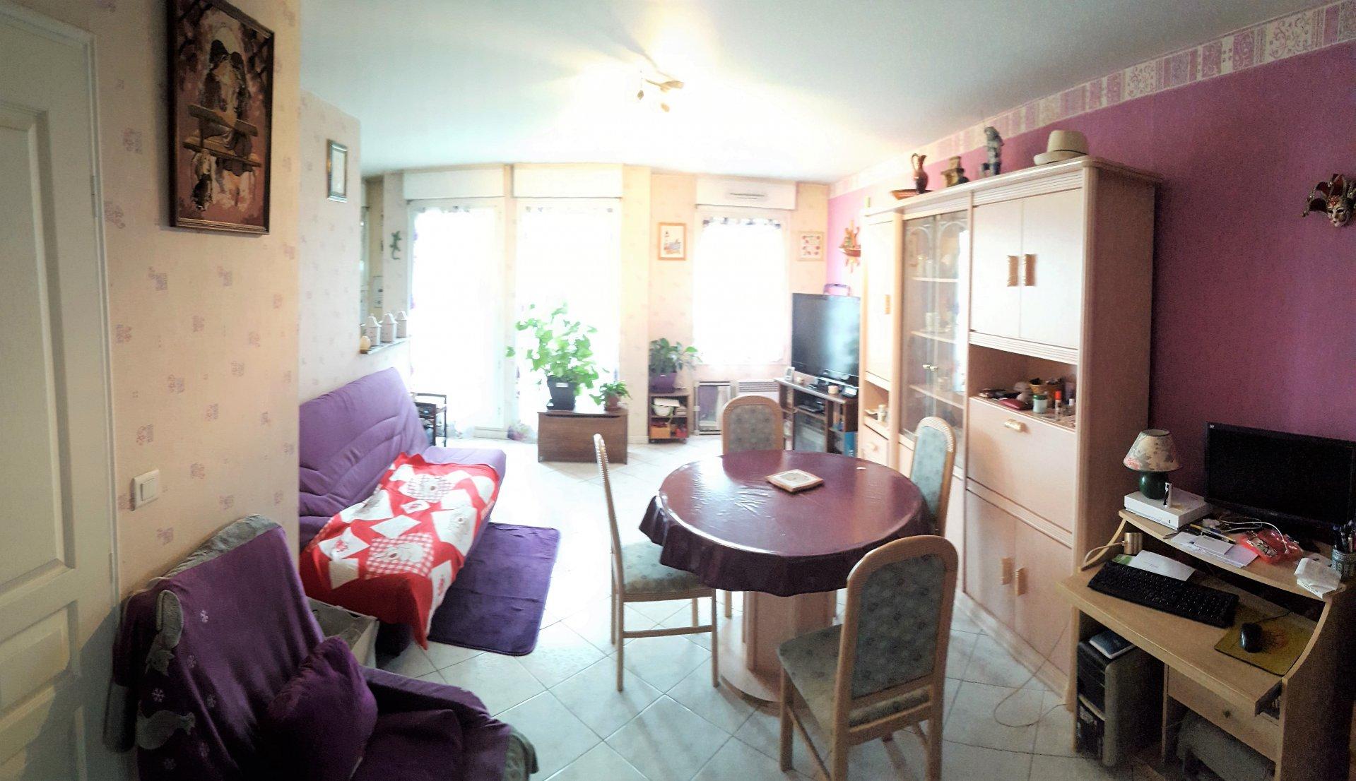 Appartement Type F3 Duplex 65 m² Loi Carrez / 78 m² au Sol