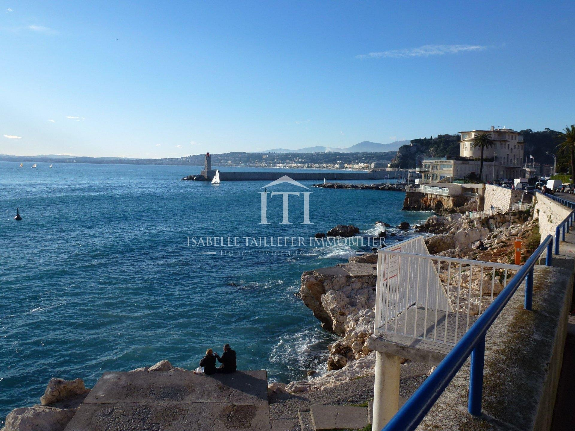 NICE PORT - SEA FRONT & SEA VIEW - TERRACE