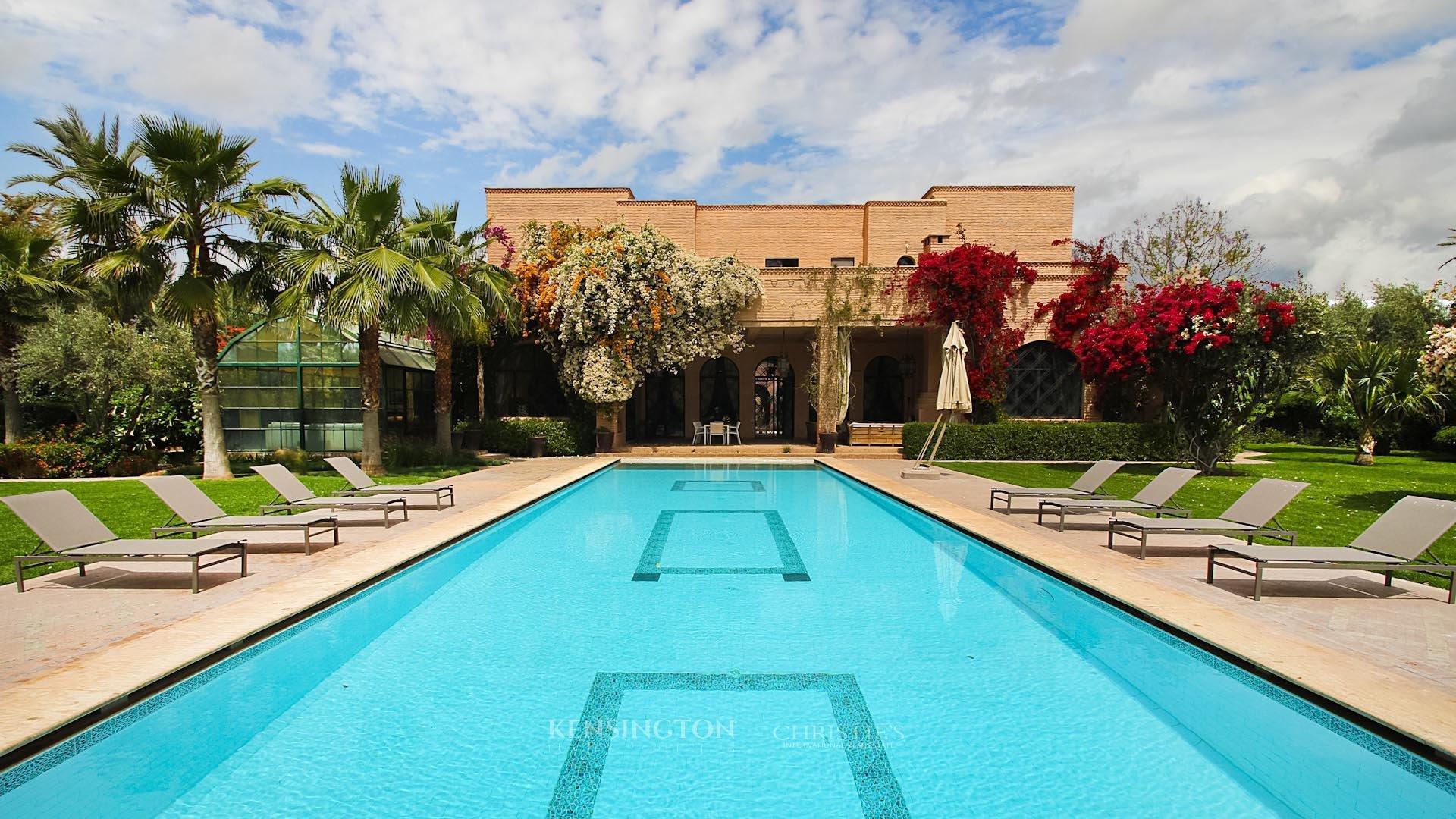 KPPM01202: Villa Sidura Luxury Villa Marrakech Morocco