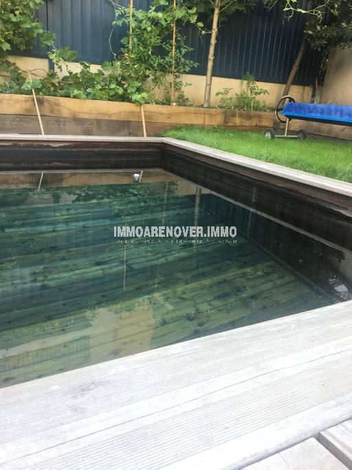 Croix Rousse. Maison contemporaine avec piscine