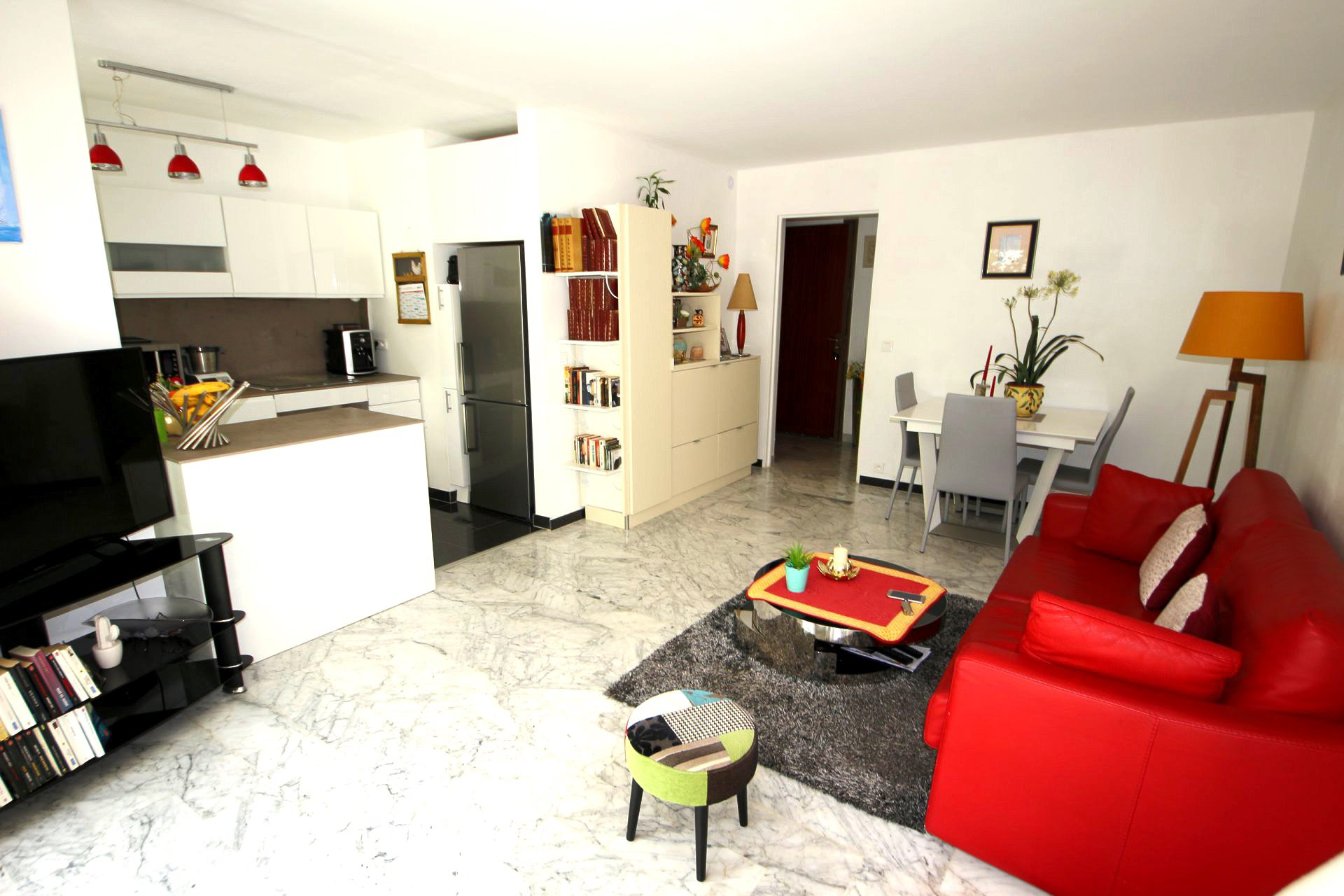 Montfleury 1/2 bedroom apartment 58sqm with garden 80sqm