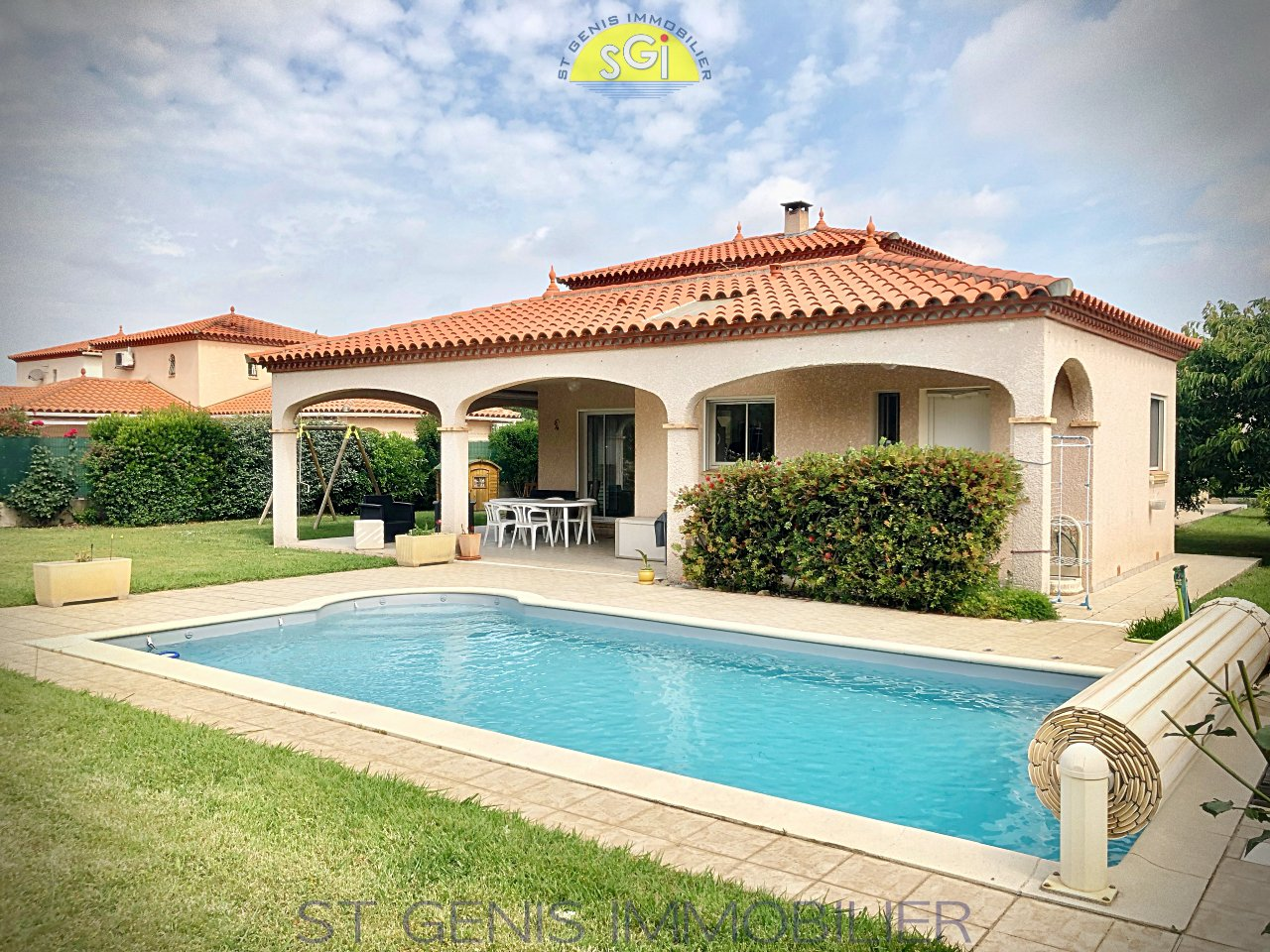 Villa 4 Faces R+1 de 164 m2 sur 1082 m2 de terrain arboré