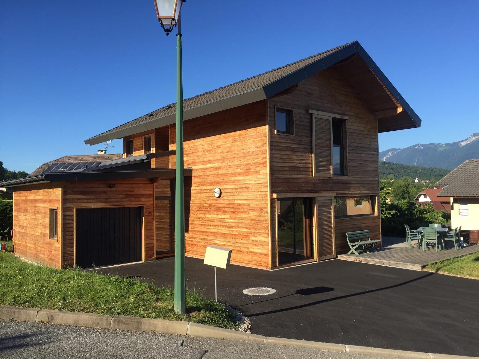Maison bois Metz-Tessy - V585
