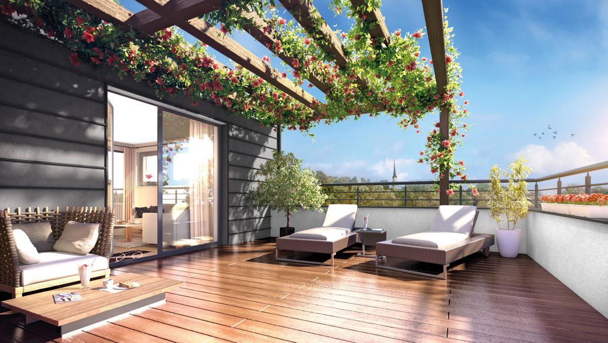 N684 - UP Appartement T4 Neuf 84 m2 - SEYNOD à la Campagne