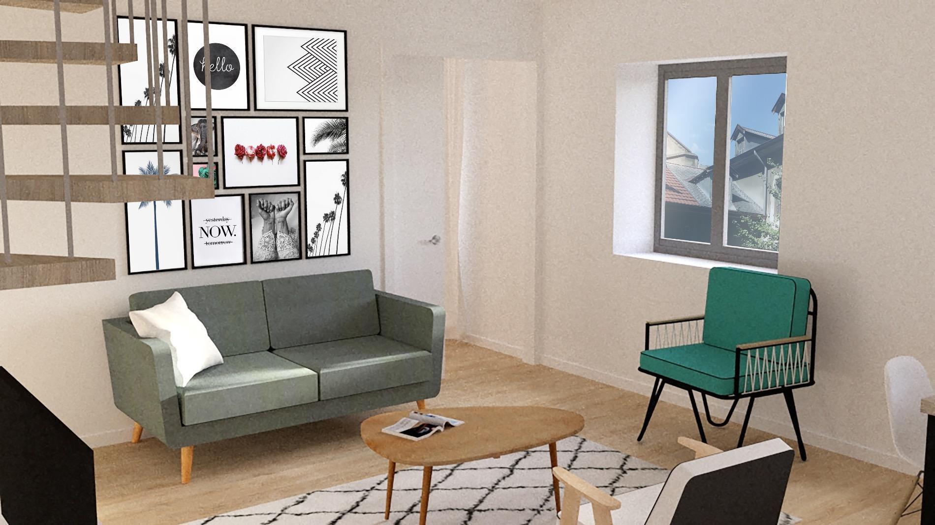 A670- Annecy centre ville, appartement de 156m2 habitables