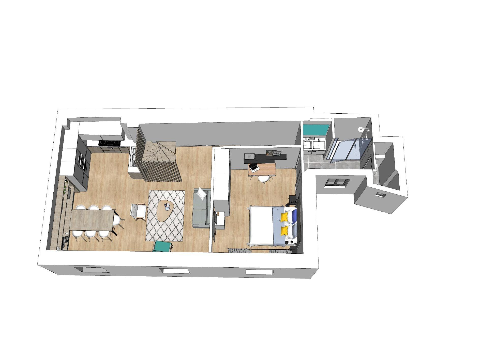 A671- Annecy Rue Royale, appartement de 122m2 habitables