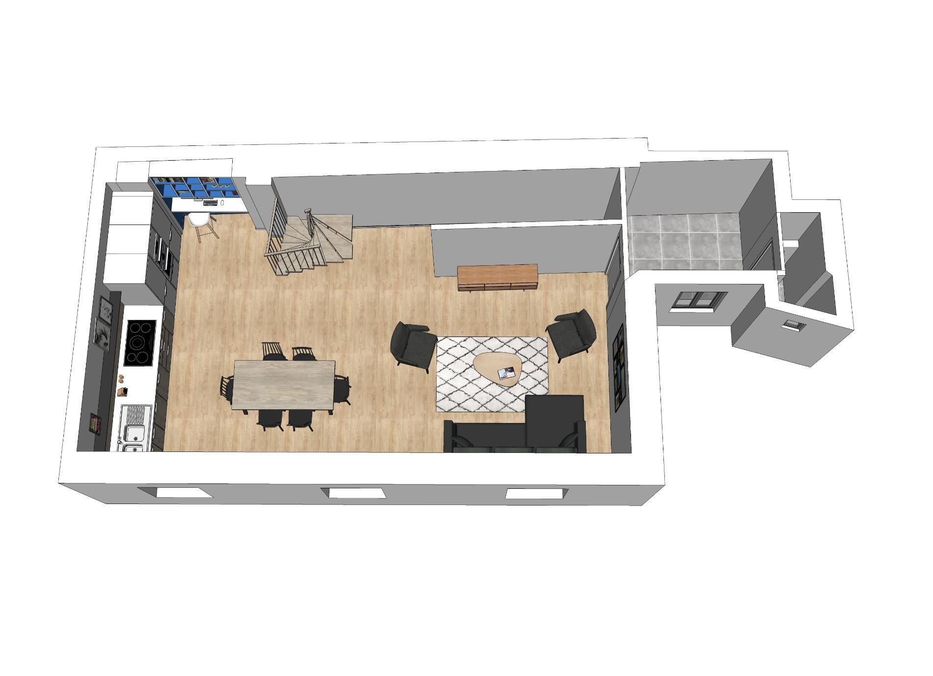 A671- Annecy Rue Royale, appartement de 122m2 habitables