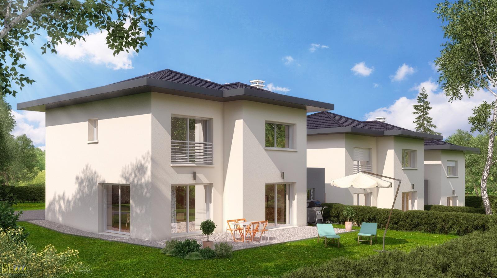 V710  vieugy maison jumelée de 130 m2