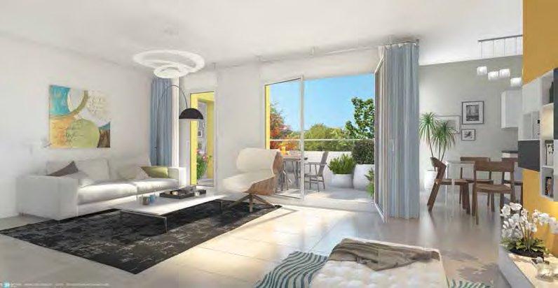N734-JO Maison Duplex T4 99 m2 - Saint-Martin-Bellevue