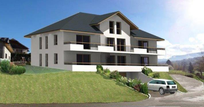 N827 - secteur Gresy sur Aix - Rez de jardin T3 de 68m²