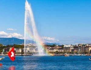 hôtel murs et fonds de commerce idéalement situé en plein cour du centre ville de Geneve
