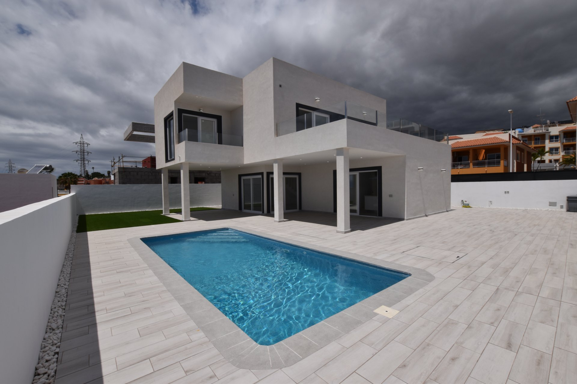 Luxe en volledig nieuwe villa in Callao Salvaje