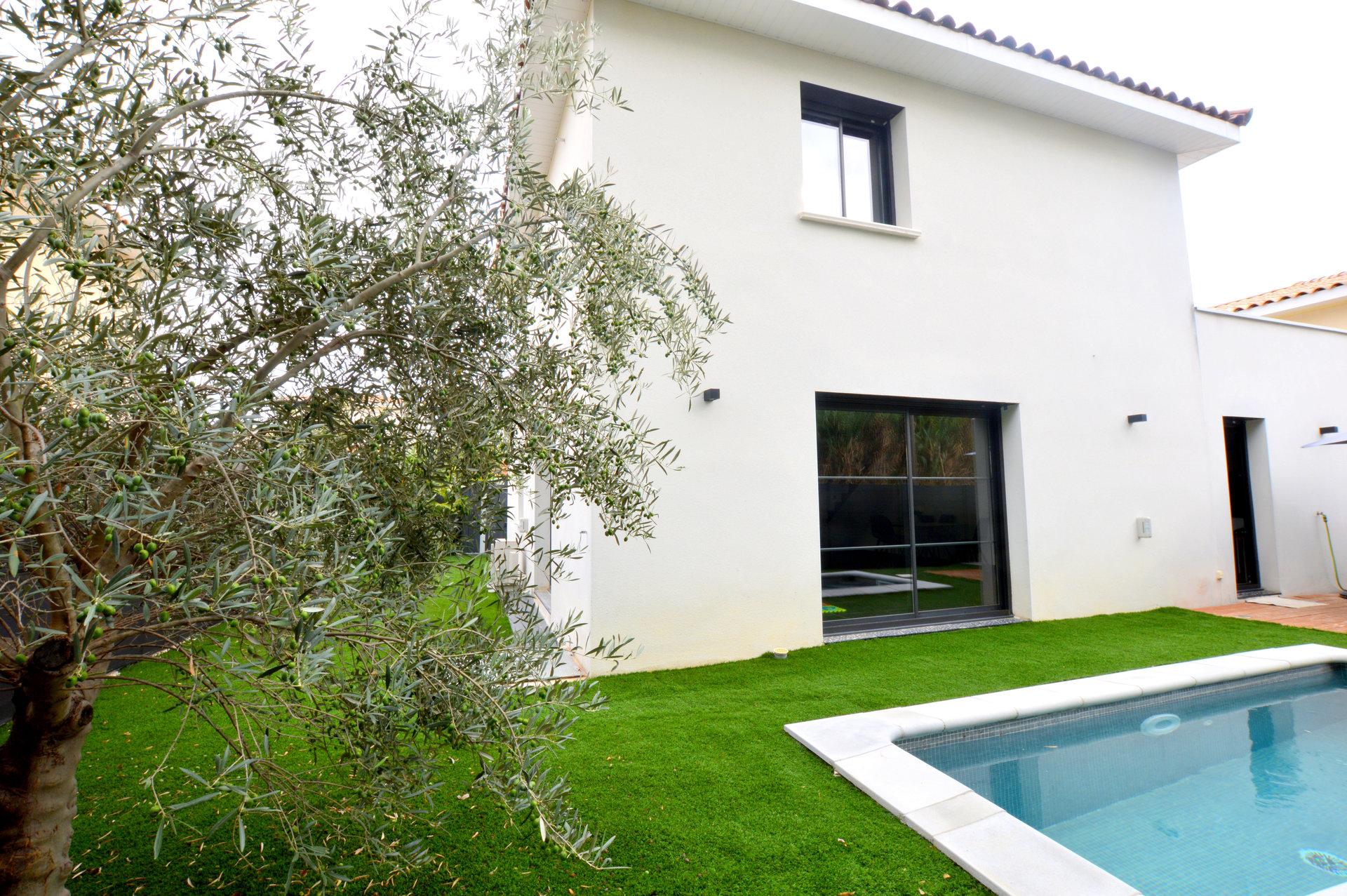 Villa contemporaine 4 pièces de 127 m² Grabels