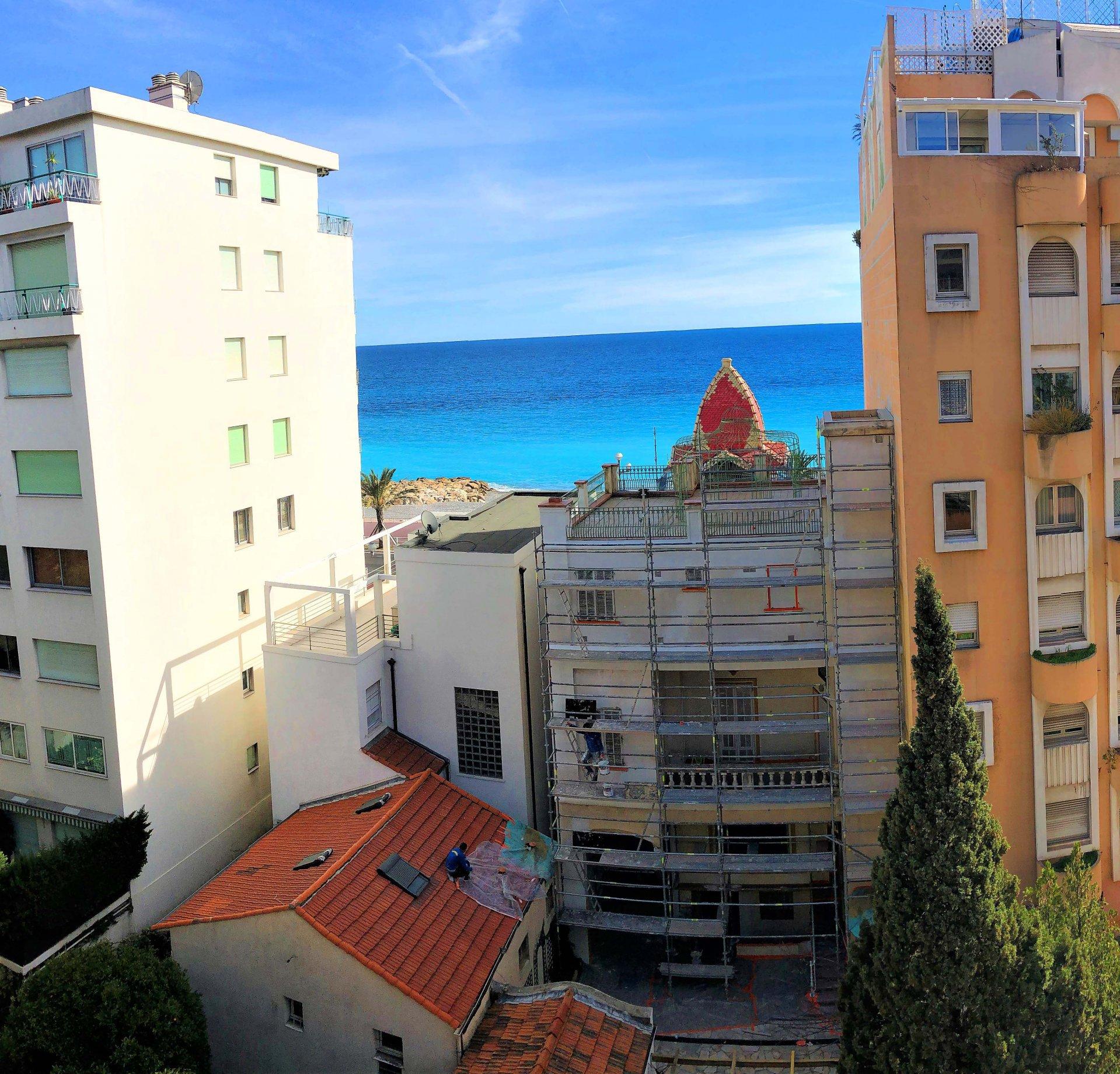 Promenade Des Anglais 3P terrasse vue mer