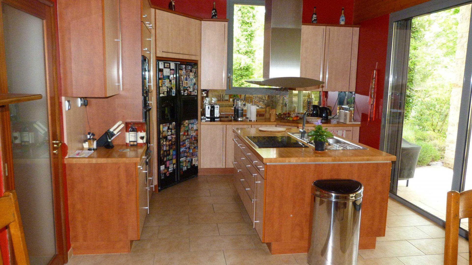 Stainless steel, kitchen island