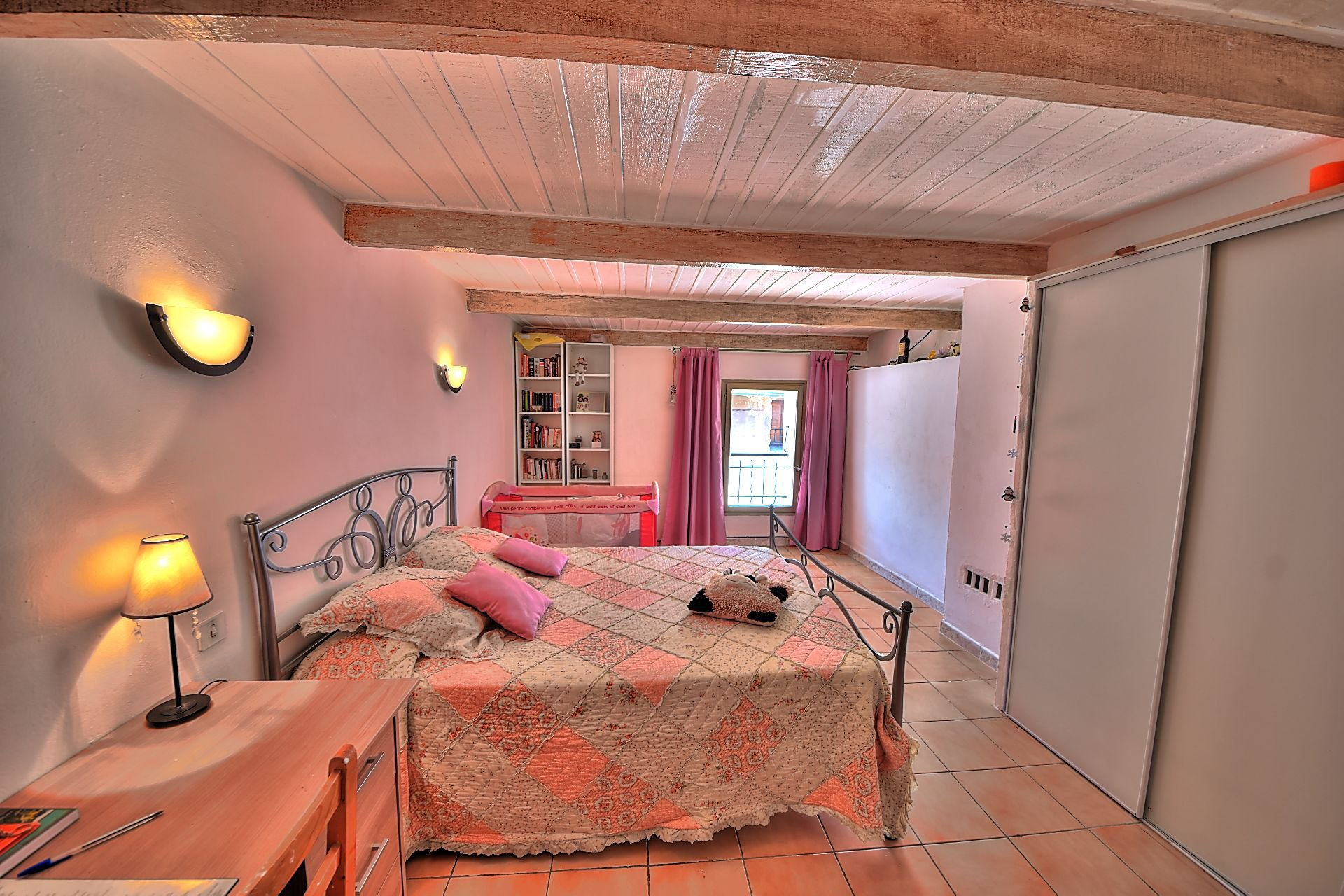 Village house with terrace Aups Verdon