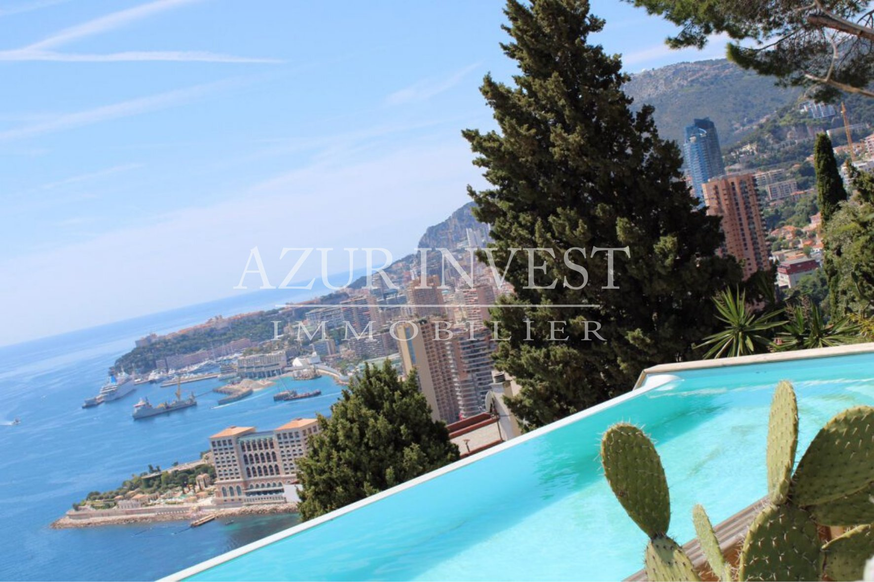 SEA VIEW VILLA ABOVE MONTE-CARLO BEACH, RCM