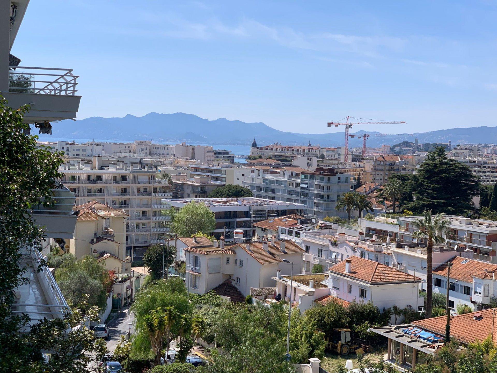 Cannes Basse Californie 2 Pièces avec vue mer dans une Résidence de Standing