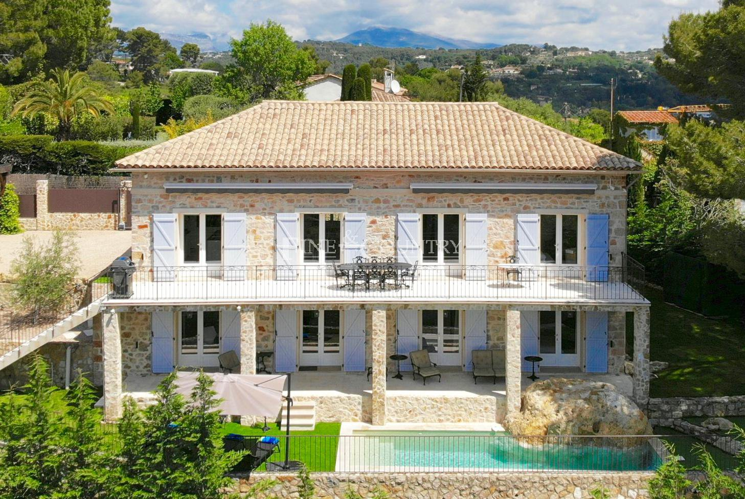 Sea View Villa for sale in Mougins, Cote d'Azur