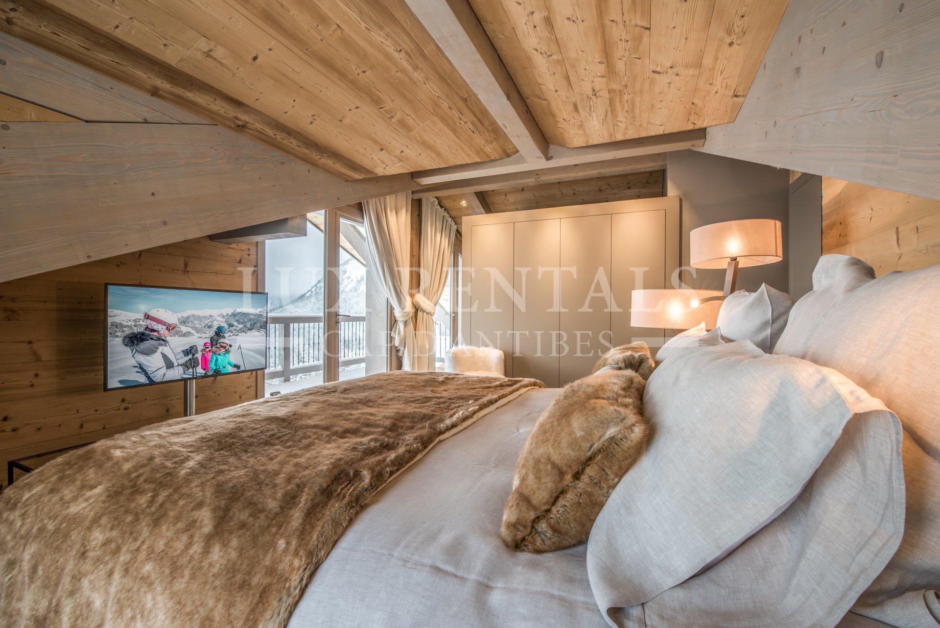Seasonal rental Chalet - Courchevel Village 1550