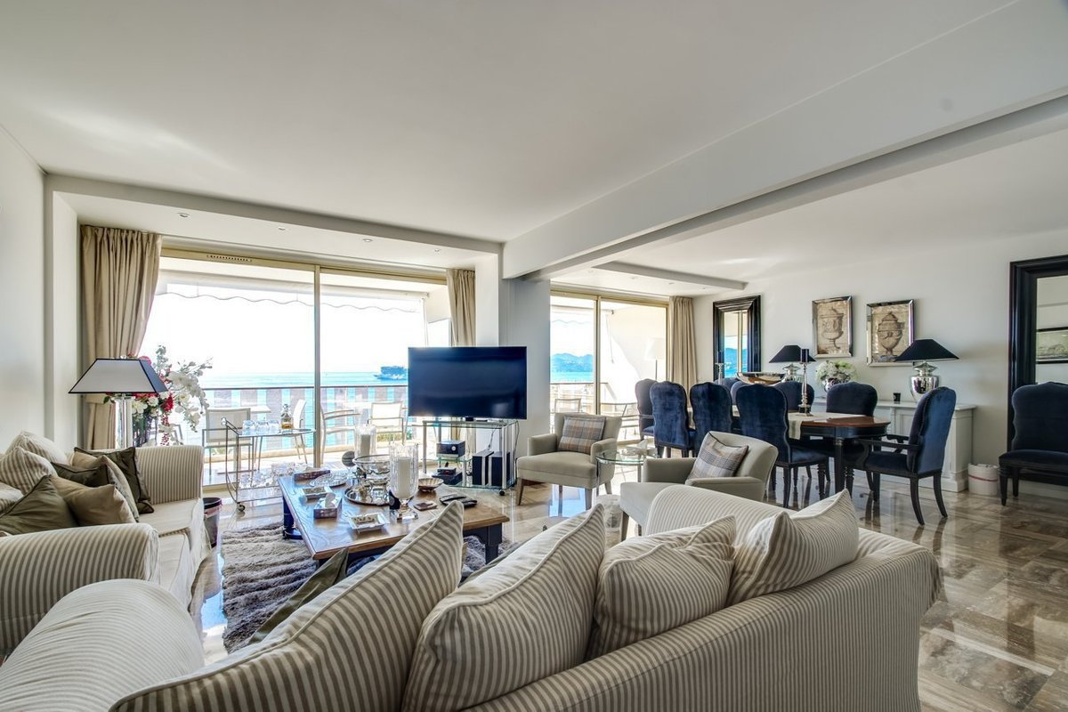 CANNES CROISETTE - SUPERB 4 ROOM APARTMENT